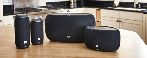 JBL Link 500 bluetooth speaker met Google Assistent