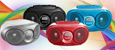 Wonderlijk bol.com   Philips AZ215C - Radio/CD-speler - Roze CV-18