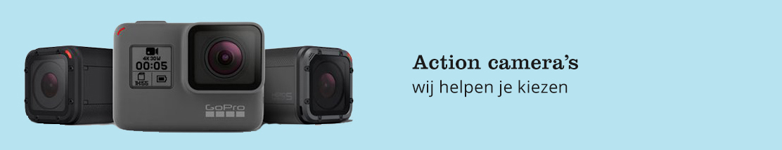 Advies over action camera's