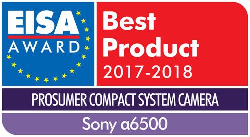 Sony A6500 EISA award