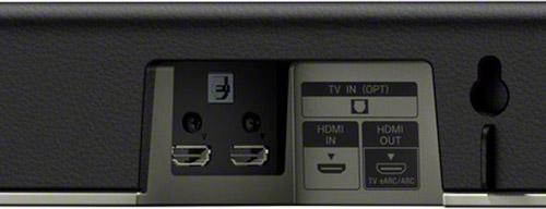 Sony HT-X8500 Aansluitingen