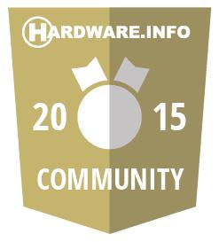 Hardware.info Community Award