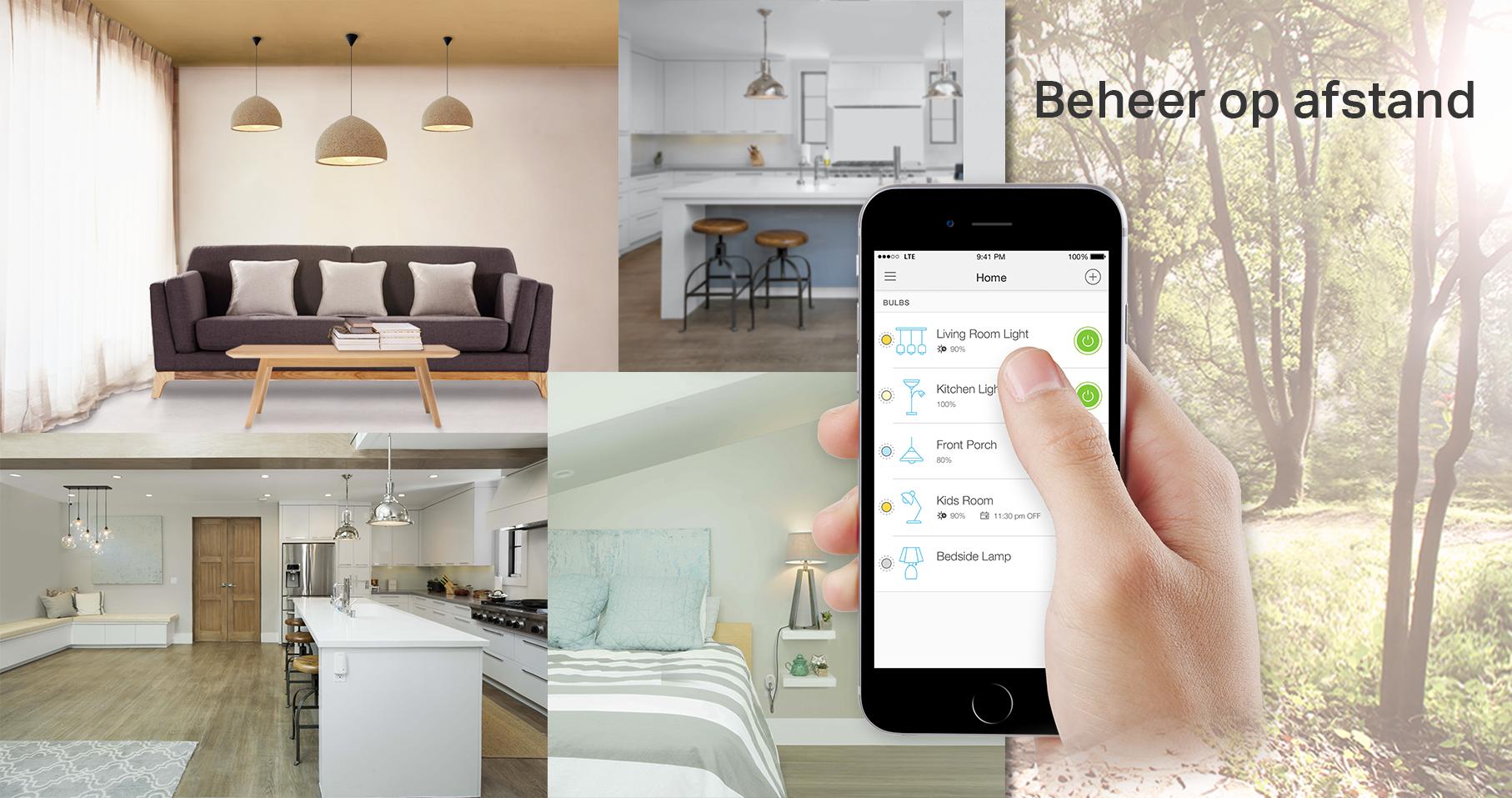 Plafonniere Wifi : Bol tp link lb wifi smart bulb e dimbaar wit licht