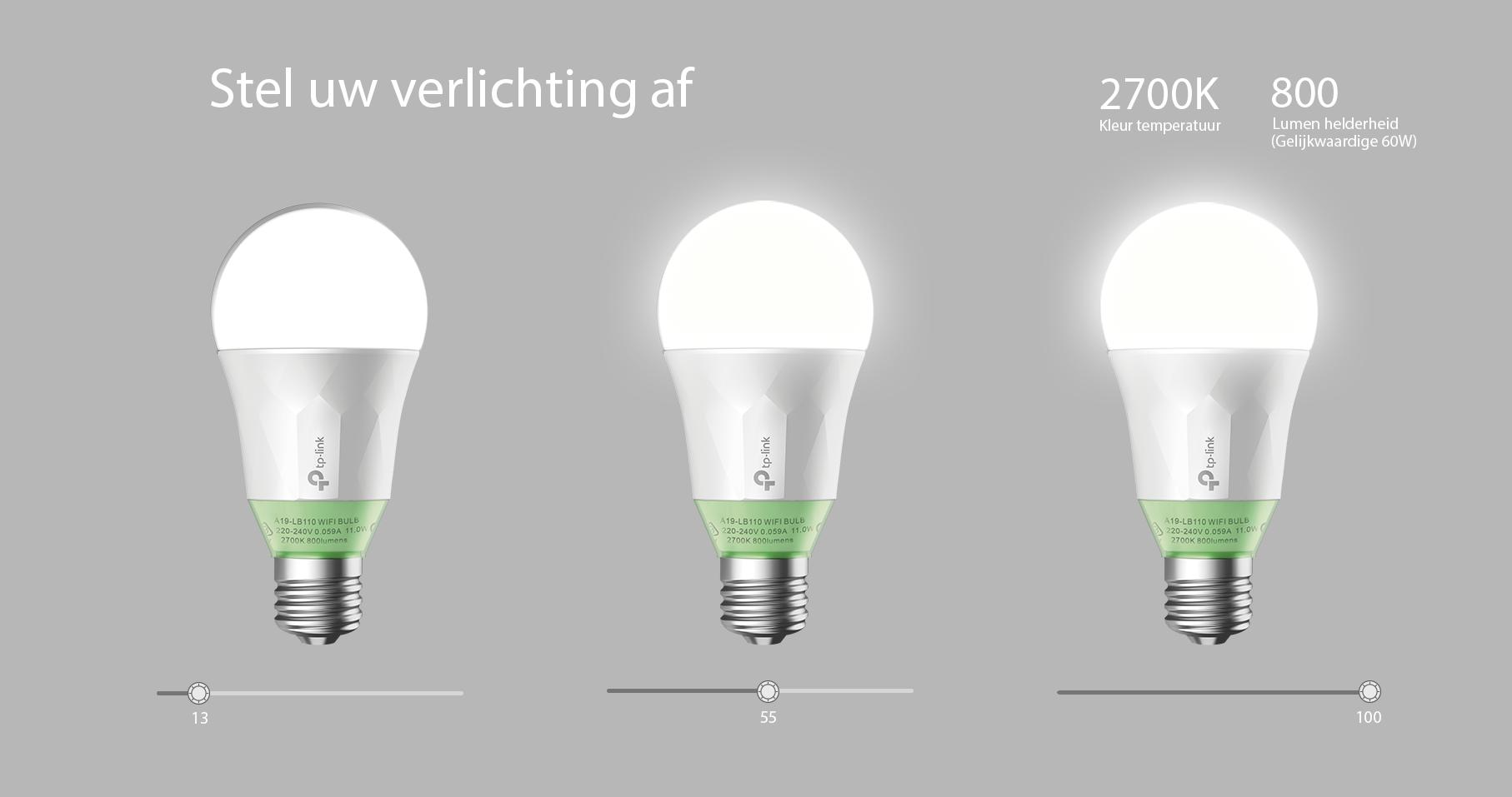 Bol tp link lb110 wifi smart bulb bespaar energie met led lampen parisarafo Image collections