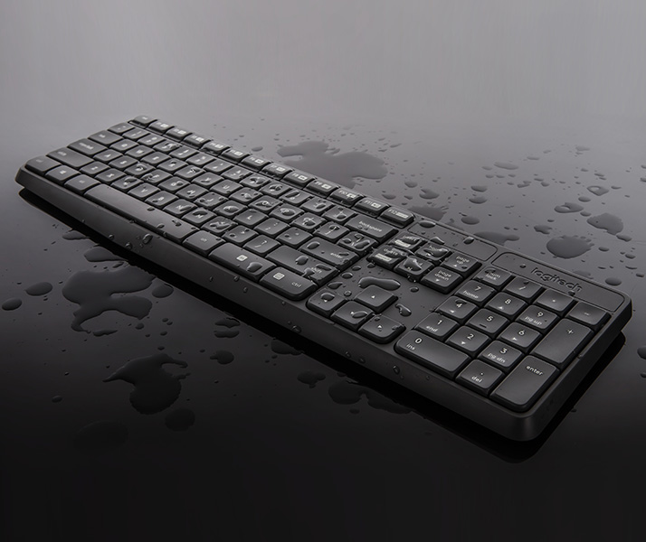 Logitech MK235 Draadloos Toetsenbord en Muis