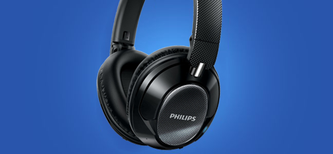 Philips SHB9850 Noise Cancelling