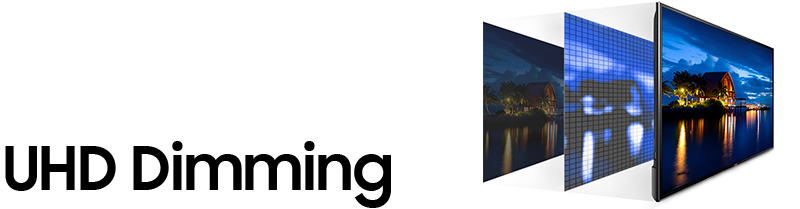 Samsung UHD dimming