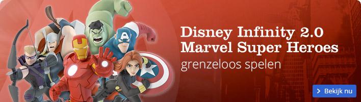 Disney Infinity 2.0 Marvel Super Heroes nu verkrijgbaar