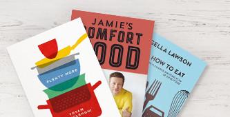5,- korting op de beste kookboeken