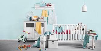 Trendy babykamer