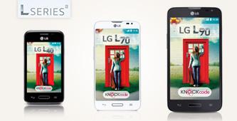 De LG L-serie: Tik hem aan