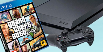 PlayStation 4 GTA V bundel
