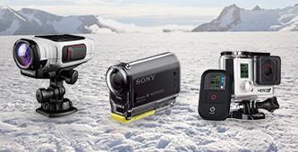 Alle action cams op een rij