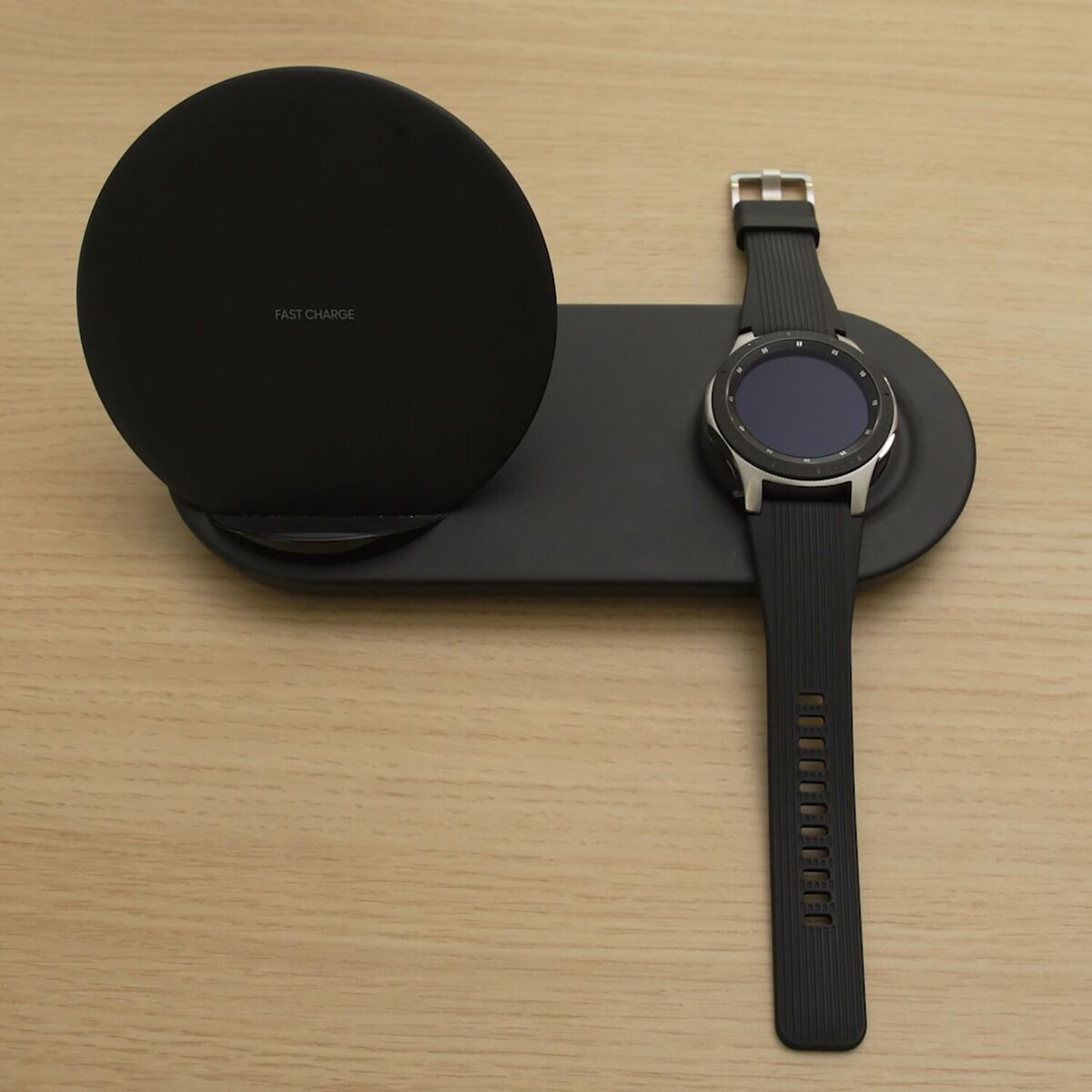 Samsung Galaxy Watch Silver Charger