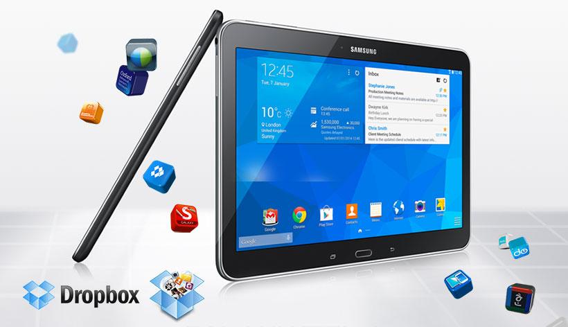 Samsung Galaxy Tab 4 VE Geheugen