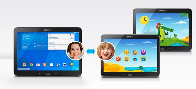 Samsung Galaxy Tab 4 VE kids mode