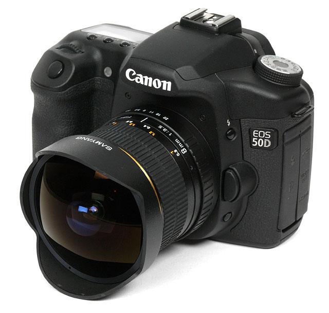 Samyang 8mm - f/3,5 UMC Fisheye CSII