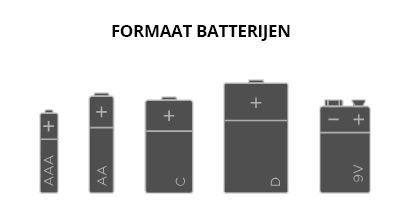 formaat batterijen bol.com