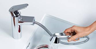 Keukenkranen met handdouche