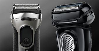 Braun Series 3 & 9 video reviews