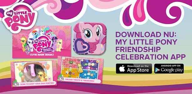 My Little Pony Friendschip Celebration App