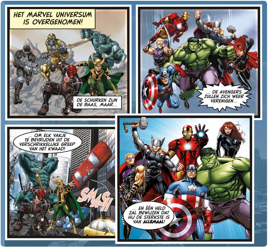 Monopoly Avengers pionnen