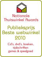 Publieksprijs Beste Webwinkel 2010, Nationale Thuiswinkel Awards