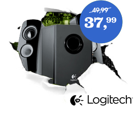 Logitech Z323 2.1 speakerset