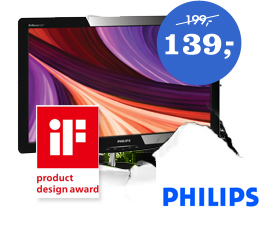 Philips 228C3LHSB 21.5 inch monitor