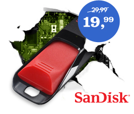 Sandisk Cruzer Edge 32 GB usb-stick