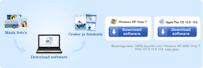 Download de software