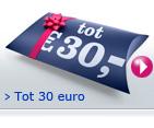 Voor ieder prijspeil tot 30 euro