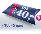 Voor ieder prijspeil tot 40 euro