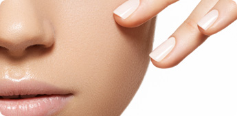 Hip: witte nagellak