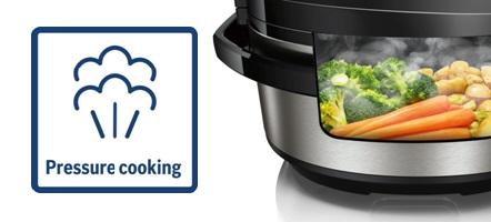 Bosch autocook pressure cooking