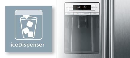 Siemens koelenvriezen IceDispenser