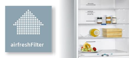 Siemens koelenvriezen airfreshfilter