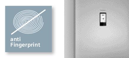 Siemens koelenvriezen antifingerprint