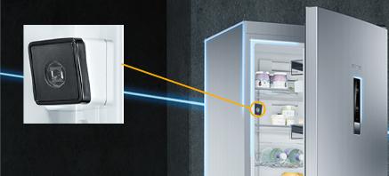 Siemens koelenvriezen camera
