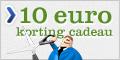 10 euro korting kado