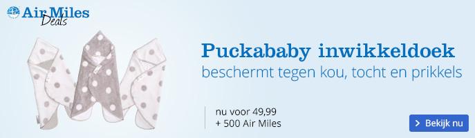Puckababy inbakerdoek, beschermt tegen kou, tocht en prikkels