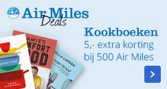 Kookboeken, 5,- extra korting bij 500 Air Miles