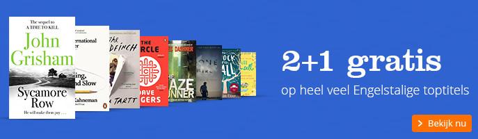 2 + 1 gratis | op heel veel Engelstalige toptitels