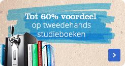 Tot 60% voordeel op tweedehands studieboeken