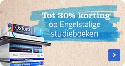 Engelstalige studieboeken tot 30% voordeel