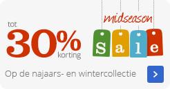 Mideseason Sale | Op de najaars- en wintercollectie | tot 30% korting