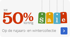 Sale | Op de najaars- en wintercollectie | tot 50% korting