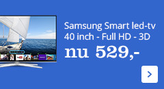 Samsung Smart led-tv 40 inch, Full HD, 3D