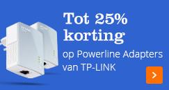 Tot 25% korting op TP-LINK Powerline Adapters