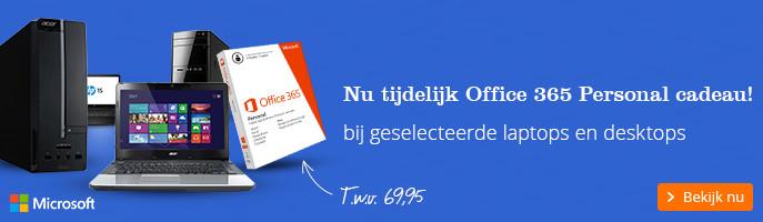 Gratis Microsoft Office 365 Personal | bij geselecteerde laptops en desktops